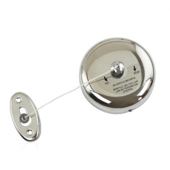 Wall Mounted Stainless Steel Retractable Single Line Clothes DryerLaundry Indoor Outdoor