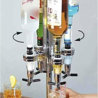 Wall Mounted Wine Dispenser Home Pourer Machine size:25 ml - intl