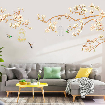 Wall wall living room adhesive paper sticker