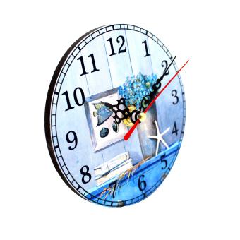 Wallmark Beach Cabin Table Clock - 2