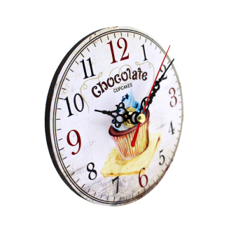 Wallmark Chocolate Cupcake Table Clock - picture 2