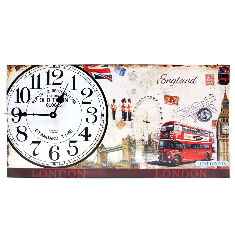 wallmark england symbols rectangular wall clock  lazada ph -