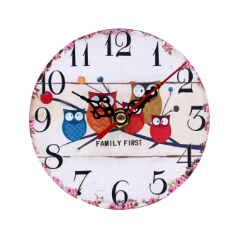 Wallmark Family First Table Clock