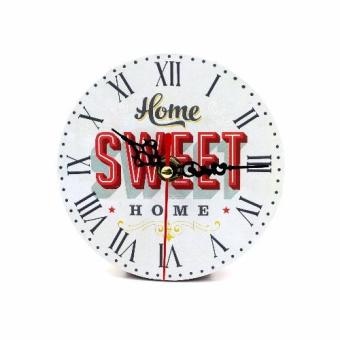Wallmark Home Sweet Home Table Clock