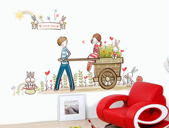 Wallmark I Love You Wall Sticker (Multicolor) Price Philippines