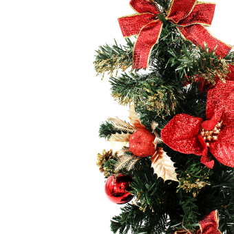 Wallmark Mini Christmas Tree With Christmas Accessories Ornaments Christmas Decoration - picture 2