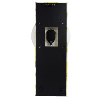 Wallmark White Royalty Flower Pendulum Wall Clock - picture 2