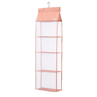 Wardrobe closet bag clothes storage hanging bag