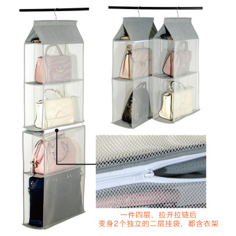 Wardrobe hanging-bag home storage rack storage hanging bag