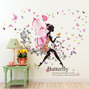 Warm and romantic glass wall wallpaper decorative products paper wall stickers