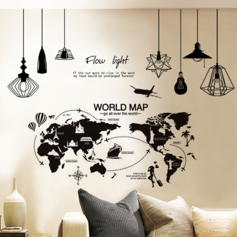 Warm Jianyue living room bedroom decorative products bedside backdrop wall sticker