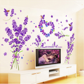 Warm living room bedroom bedside decorative sofa adhesive paper wall stickers