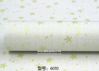 Warm pastoral waterproof self-adhesive Wallpaper
