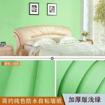 Warm PVC bedroom living room background wall stickers Wallpaper