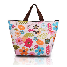 PHP 346. Waterproof Picnic Lunch Bag Case Tote Handbag Reusable Bags Insulated Cooler Travel Zipper Organizer ...