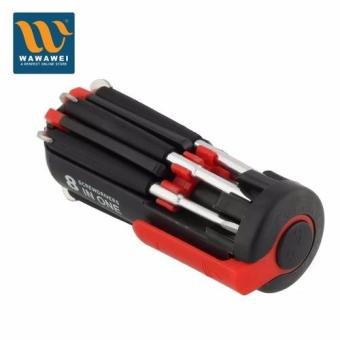 Wawawei 8 in One Multi-Screwdriver with LED Torch