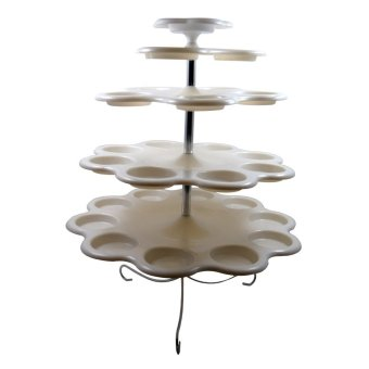 wawawei Cupcake Stand 5 tiers (White)