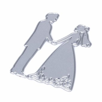 Wedding Cutting Dies Stencil for DIY Scrapbook Album Paper Card -intl - 5