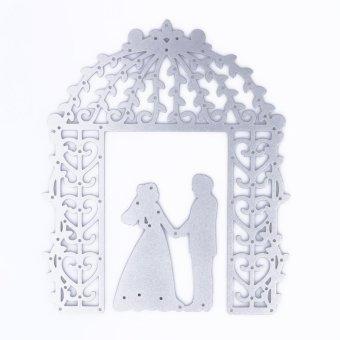 Wedding Cutting Dies Stencil for DIY Scrapbook Album Paper Card -intl - 4