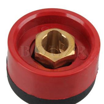 Welding Machine Plug with Panel Socket (Red) - 5