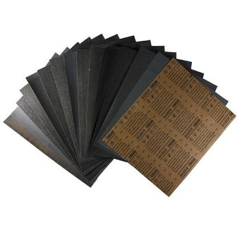 Wet/Dry Emery Sandpaper Sheets 60 - 2000 Grit Sand Paper Sanding Finishing P400 - intl