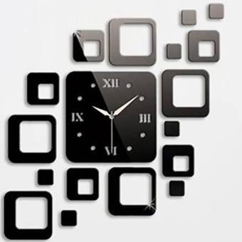 WHD 434347 Clock Mirror Stickers (Black)