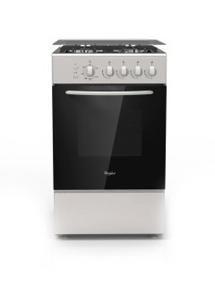 Whirlpool AGG 540 IX 50cm Free-standing Range with 4 Gas Burners(Stainless Steel)