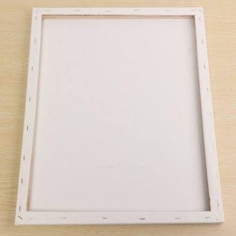 White Blank Square Canvas Board Wooden Frame For Art Artist Oil Acrylic Paints 40x50cm