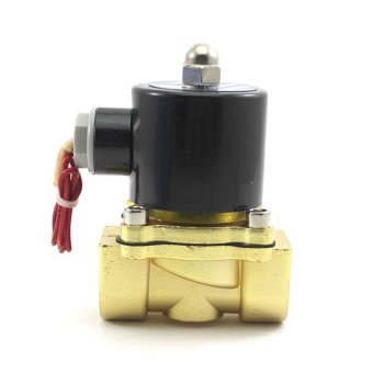 Whyus 220V Electric Solenoid Valve Water Oil Gas Pneumatic Normally Closed - INTL - 4