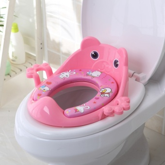 WI new plus size child toilet seat baby seat ring child toilet cover pad infant toilet - intl