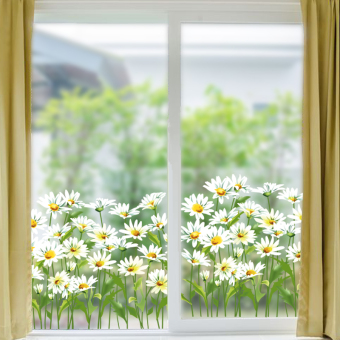 Window Glass living room corridor wall adhesive paper