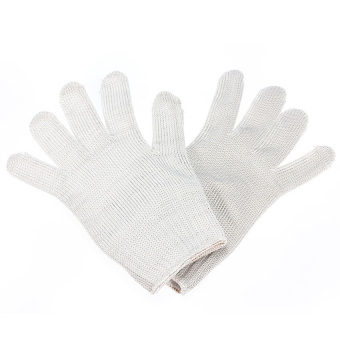 Wire Resistant Gloves (White) (Intl)