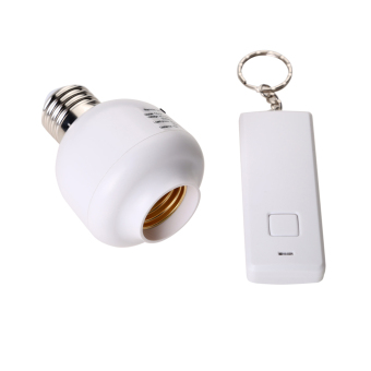 Wireless Remote Control E27 Screw-In Light Bulb Holder SocketSwitch Base (Intl)