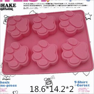 With big silicone cake Ice Tray Mold