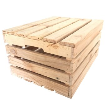 Wood Crates with Lid (Large-Tall)