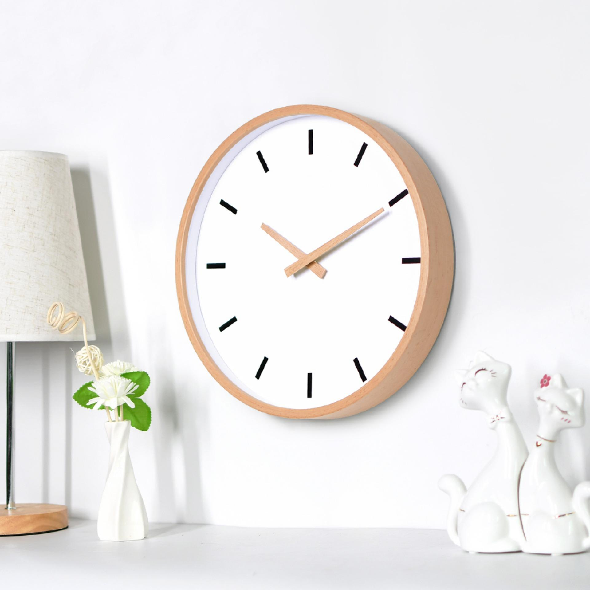 Wood Wall Clock Decorative Wall Clock 14 ...