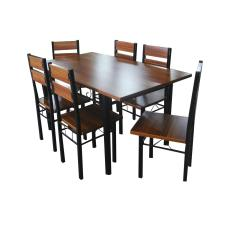 Wooden Dining Set 6 Seater 169A
