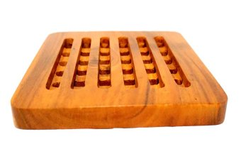 Wooden Trivet Square (Brown) Price Philippines