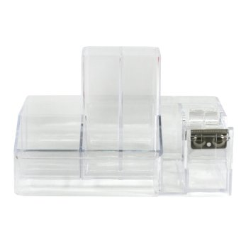 WORK360 Acrylic099 Crystal Clear Desk Organizer (Clear)
