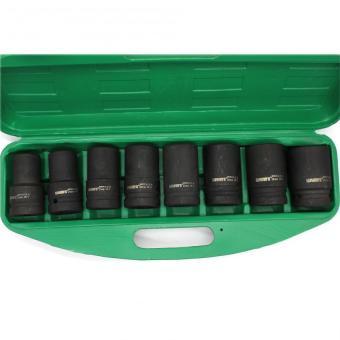 Wynn's W0025 8 pcs. Impact Wrench Socket Set 22-41mm (Green) - 4