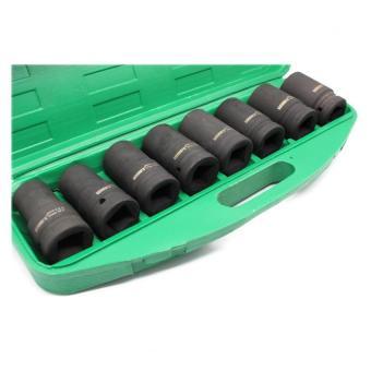 Wynn's W0025 8 pcs. Impact Wrench Socket Set 22-41mm (Green) - 2