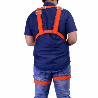 Wynn's W4310 High Altitude Supporter Double Rope Safety Harness (Orange) - 3