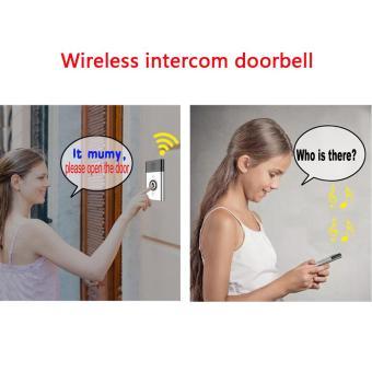 XCSOURCE 300m Wireless Voice Intercom Doorbell 2-way Talk Monitor Home Security USB HS842 - intl - 4