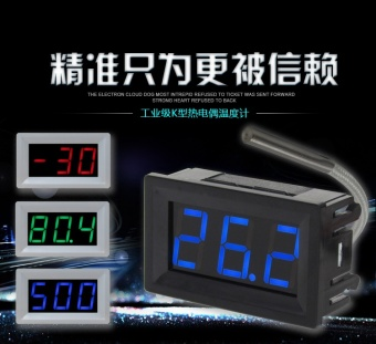 XH-B310 digital display high temperature thermometer type K thermocouple industrial digital .