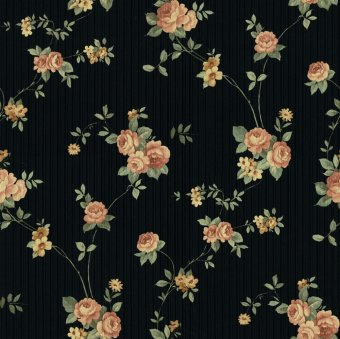 XTE3053 Vinyl Wallpaper (Black)