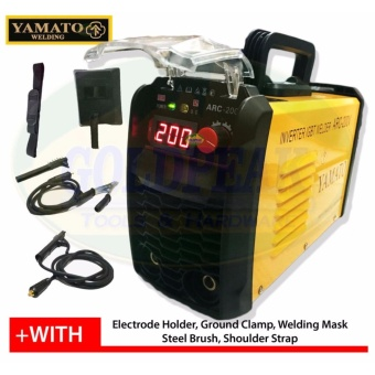 Yamato ARC200V IGBT Digital DC Inverter Welding Machine 200A