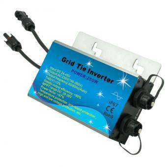 Y Amp H 300w Mppt Waterproof Grid Tie Micro Inverter Dc22 45v