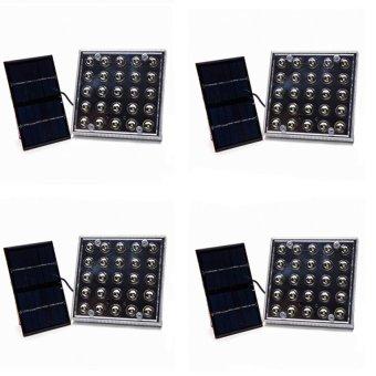 YD-006 Solar LED Light Set of 4 (White)