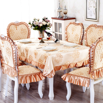 YIDUO Garden tables and chairs sets Round Table tablecloth dining table cloth