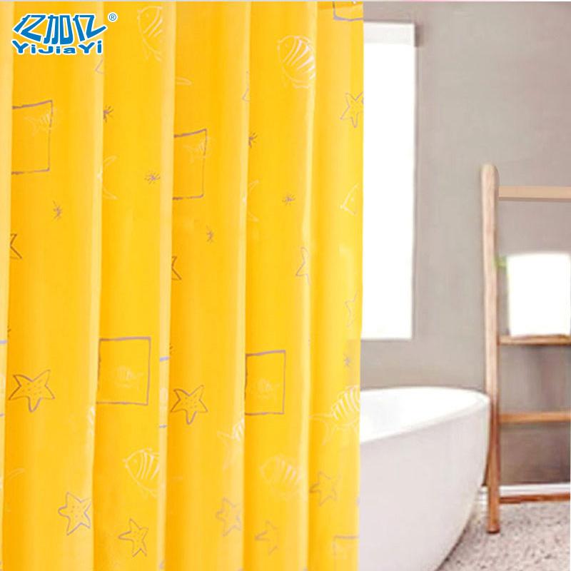 Yijiayi Di Lun Not Transparent Waterproof Anti Mildew Curtain Shower